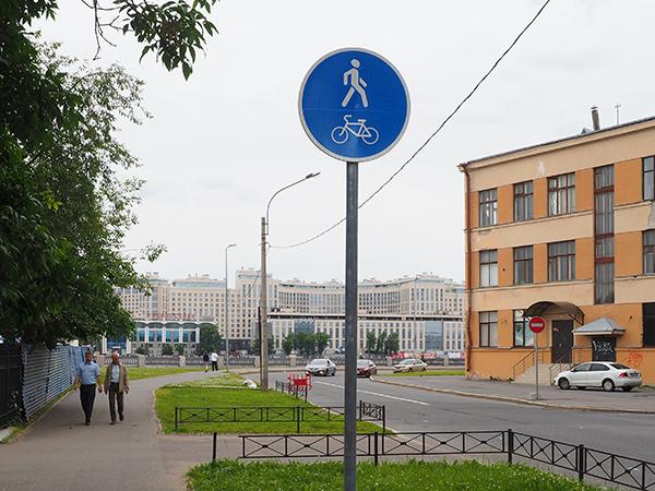 Автомобилисты Петербурга не заметили велодорожек