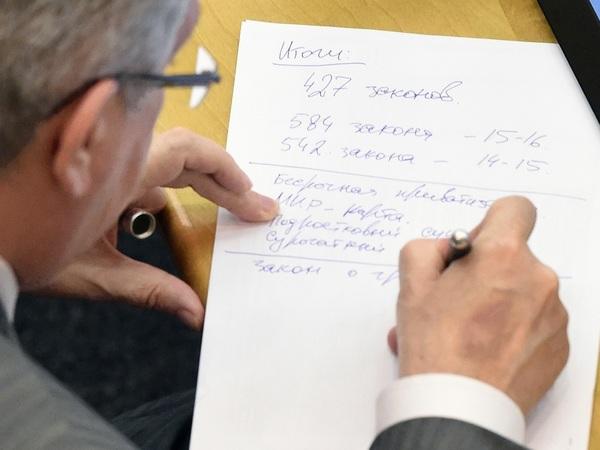 Чем занимались весь год петербургские депутаты Госдумы