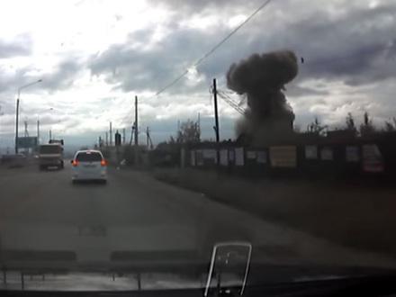 Рядом с местом взрыва в Чите обнаружены части ракетного комплекса С-200