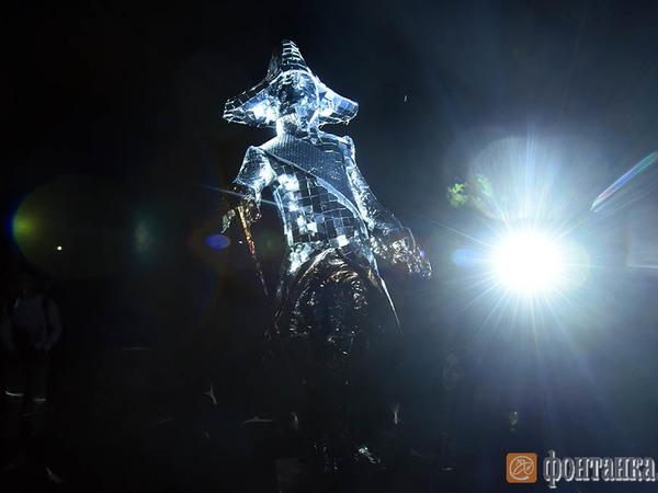 В «Ночи света» в Гатчине поучаствовала гроза