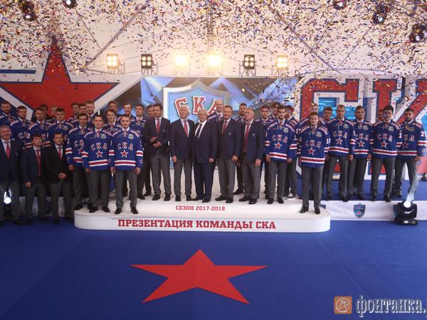 Президент СКА: Мы привезём третий Кубок Гагарина в Петербург