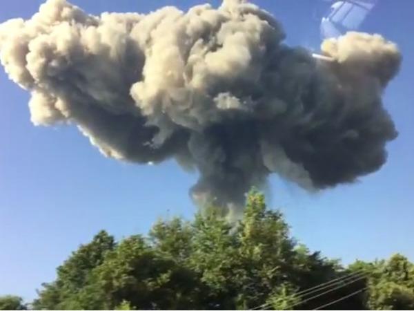 Власти проинформировали опродолжающихся взрывах наскладе боеприпасов вАбхазии