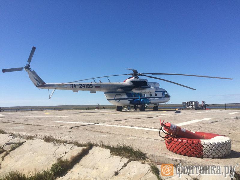 В большинство населенных пунктов Ямала можно добраться только на вертолете