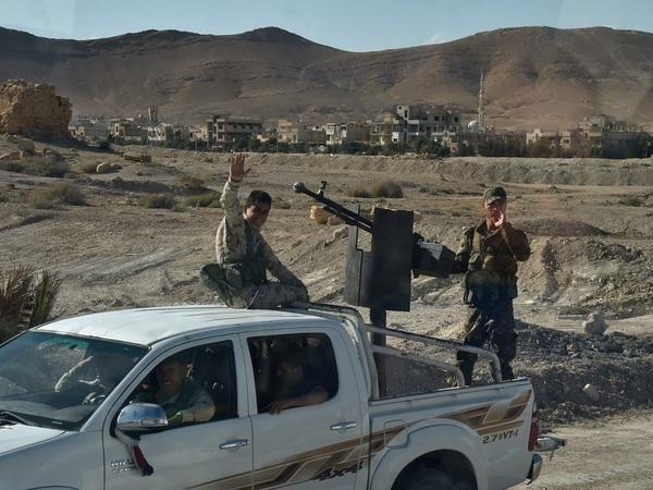 ИзПетербурга вСирию: как угнанные джипы оказываются взоне военных действий