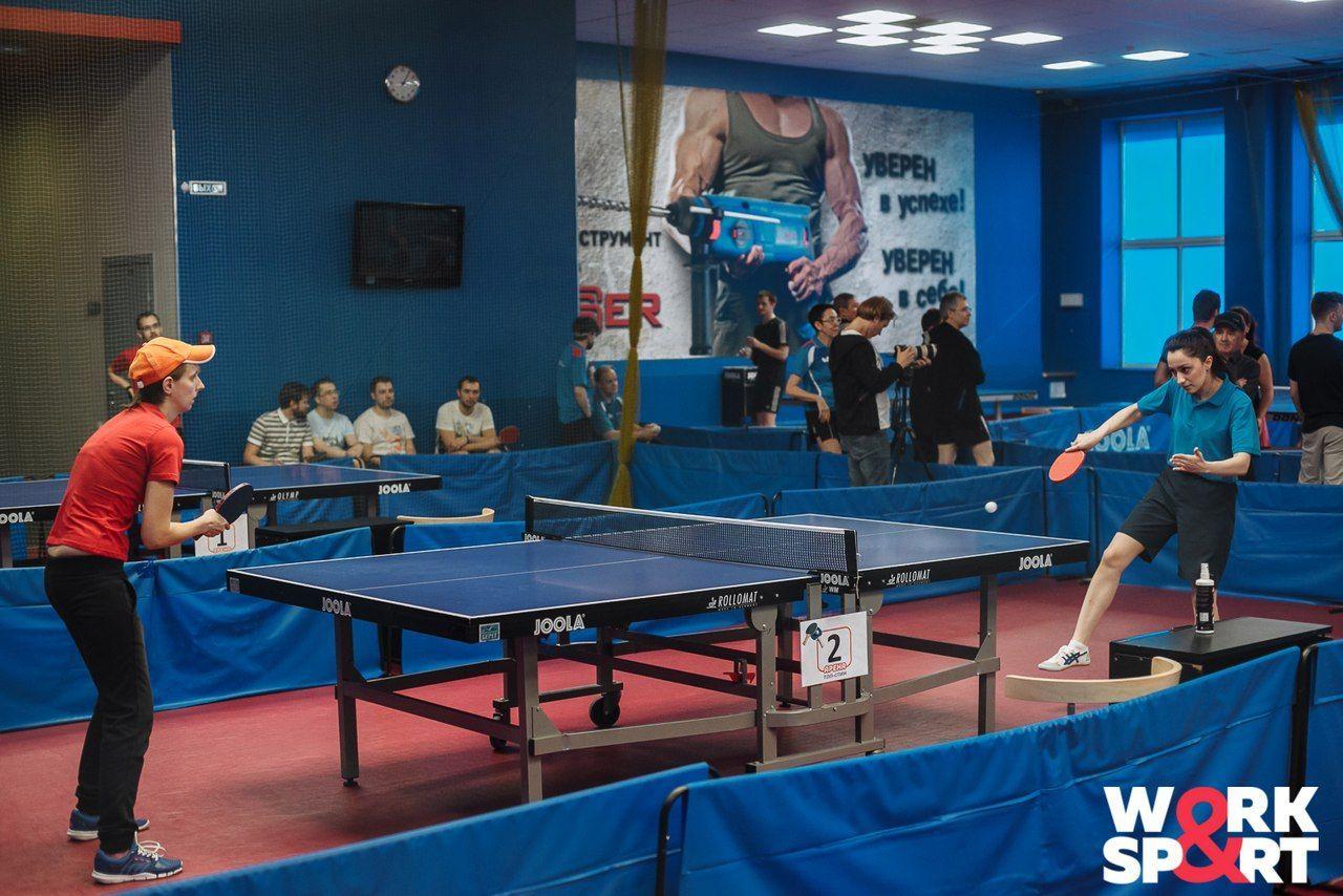 Турнир по настольному теннису прошел в пользу петербургских регбистов на колясках (Иллюстрация 1 из 1)