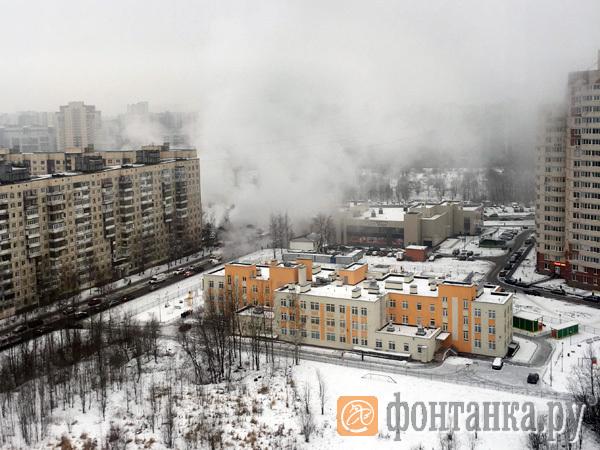 В Невском районе замерзают 66 домов