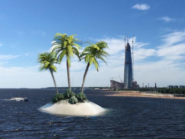 И целого города мало. Пригожин хочет прирастить Петербург островами