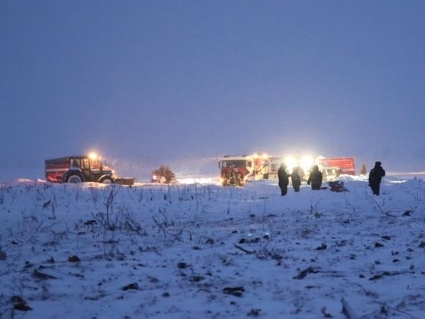 Крушение Ан-148 попало накамеры видеонаблюдения