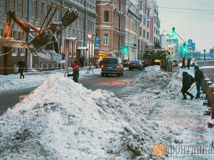 Смольный обещал очистить улицы. Но это не точно