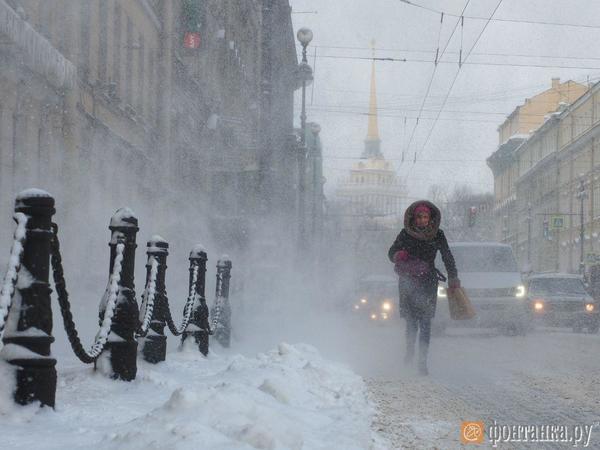 Прокуратура оценит чистоту улиц в Петербурге после снегопада