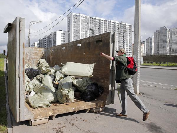 Петербуржцы заплатят за мусор по-новому