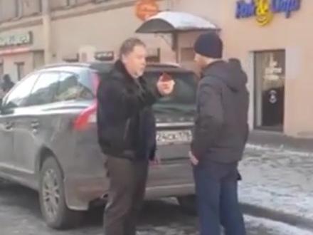 В Петербурге «прокурор» на Range Rover пообещал сгноить мешавших ему пешеходов