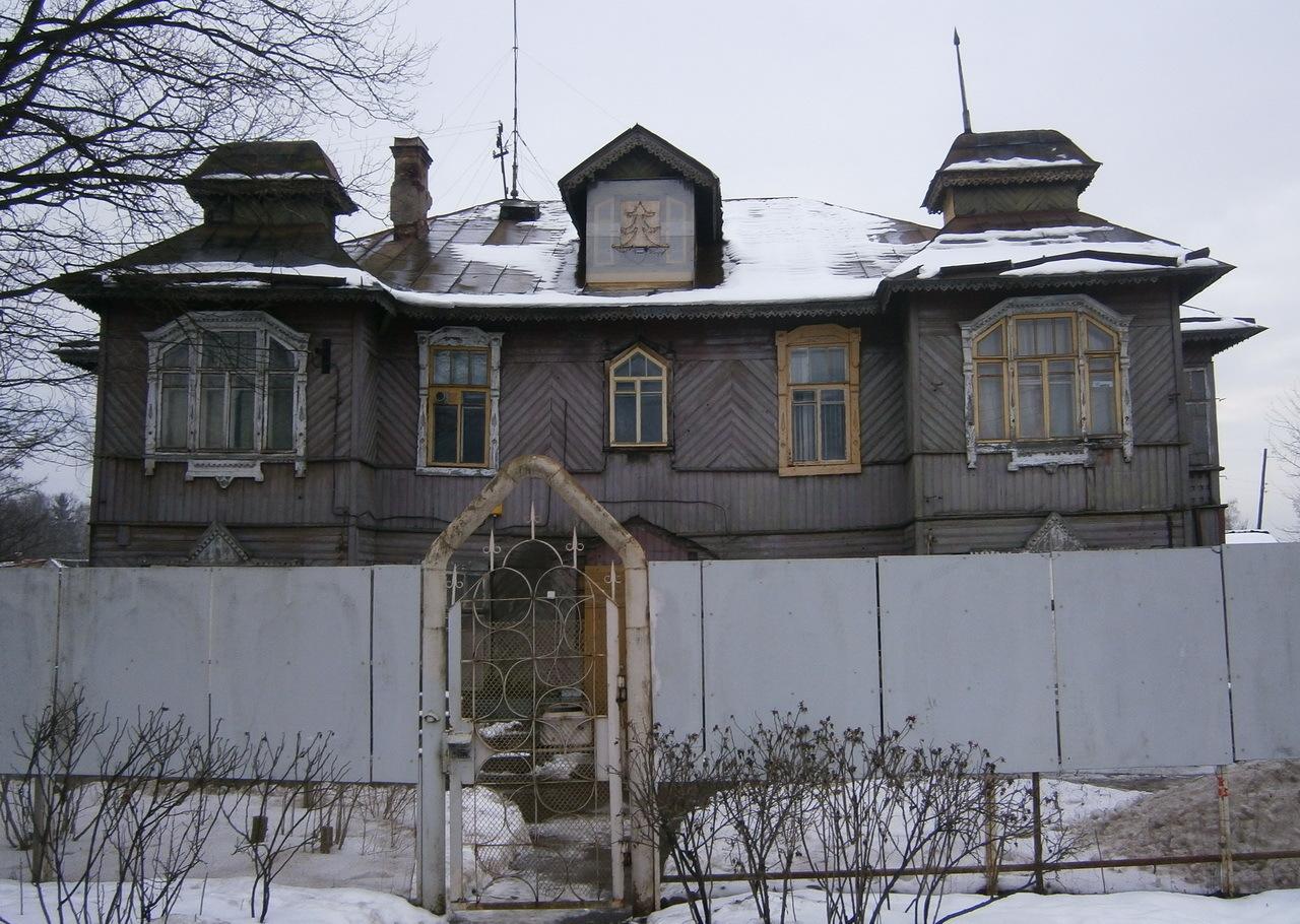 Дача (деревянная) на Citywalls.ru