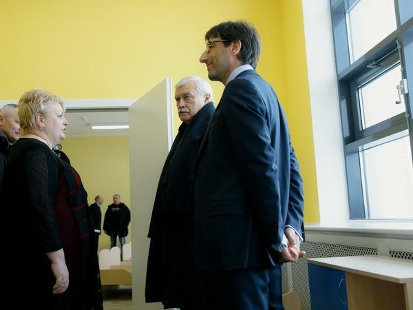 «Северный город» показал губернатору Петербурга новый детский сад