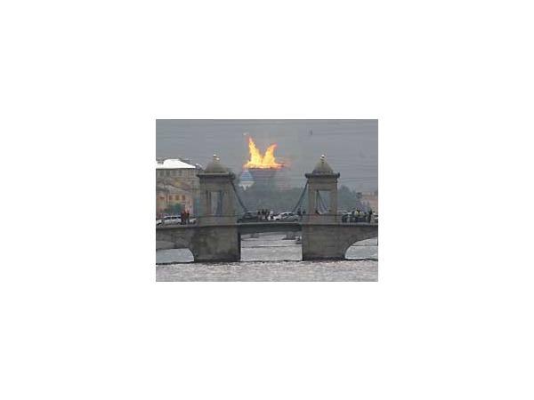 Пожар в Троицком соборе