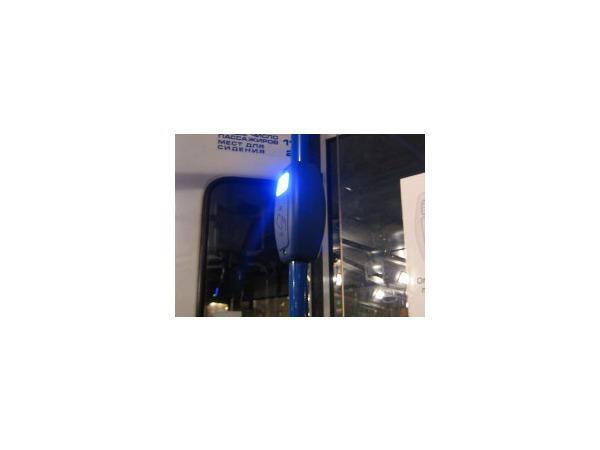 Электронный кондуктор застрял по дороге