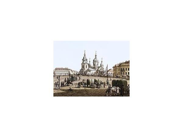 Концепцию застройки Сенной площади могут выставить на конкурс
