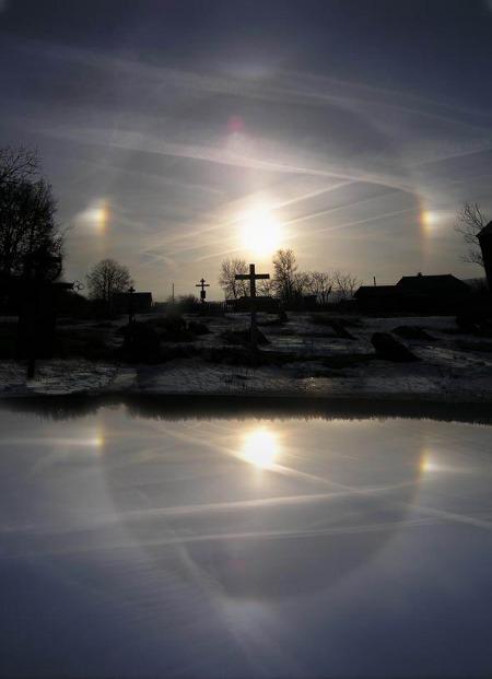 Е.Аносова. Крещенское утро. 2003