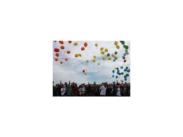 «Радужный флэш-моб» геев и лесбиянок прошел мирно