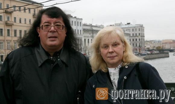 Игорь Корнелюк с женой и продюсером Мариной