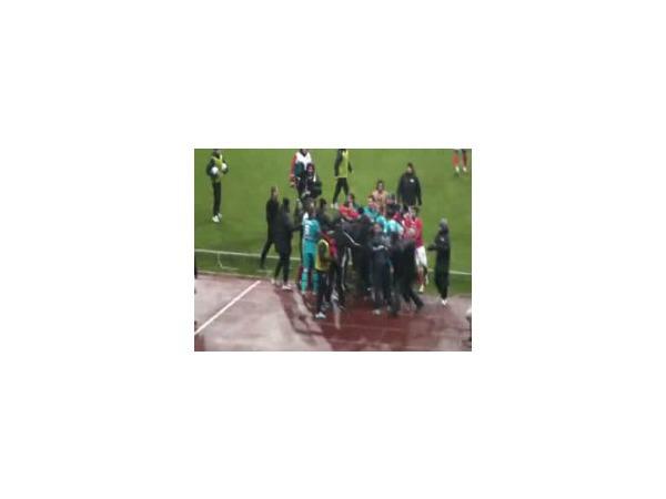 В Интернете появилось видео с подробностями конфликта после матча «Спартак» - «Зенит»