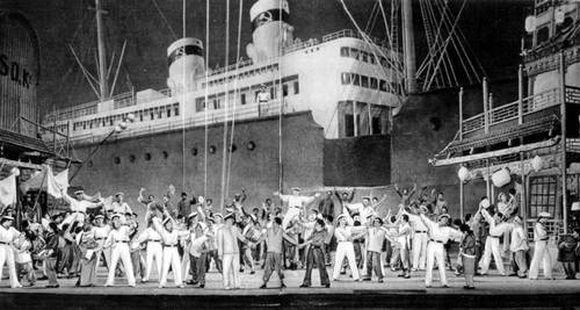 """""""Красный мак"""", Большой театр, 1927 год"""