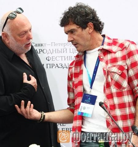 Эндрю Вайна и Антонио Бандерас