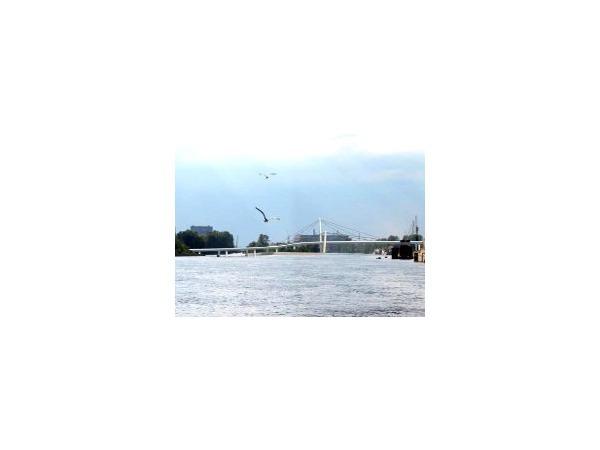 Мост через остров Серный «разморозили»