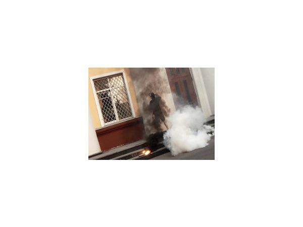 В Интернете появилось видео «атаки» на администрацию Химок