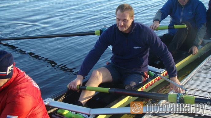 Алексею Бывальцеву нравится новая лодка