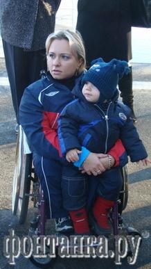 Юлия Сидорцова с сыном