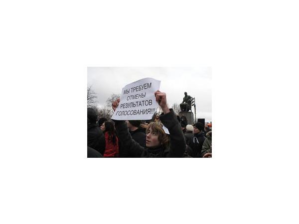 ГУ МВД подводит итоги: 10 задержанных на 7 тыс. митингующих