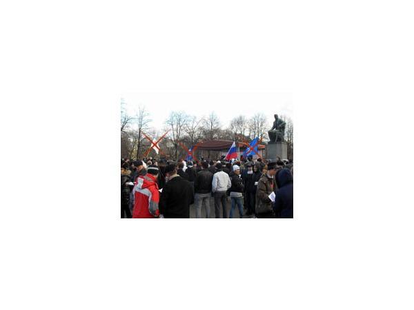 Путин обеспечил явку на митинги «бандерлогов»