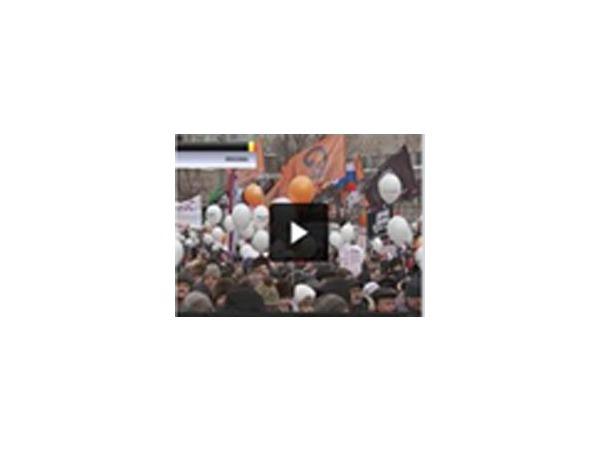 """Белорусское ТВ назвало митинг в Москве """"несостоявшимся"""""""