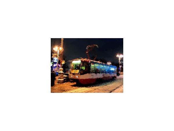 Как будет работать городской транспорт в новогоднюю ночь