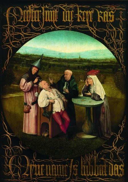 """Иероним Босх """"Извлечение камня глупости"""" (после 1490 года)"""
