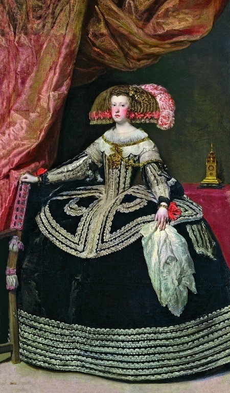 """Диего Родригес де Сильва-и-Веласкес """"Портрет королевы Марианны Австрийской"""" (1652–53)"""