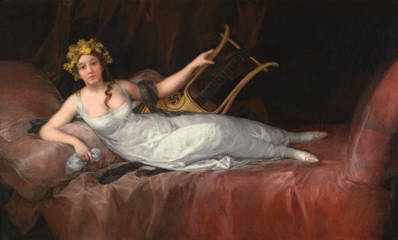 """Франсиско Хосе де Гойя-и-Лусиентес """"Портрет маркизы де Санта Крус"""" (1805)"""