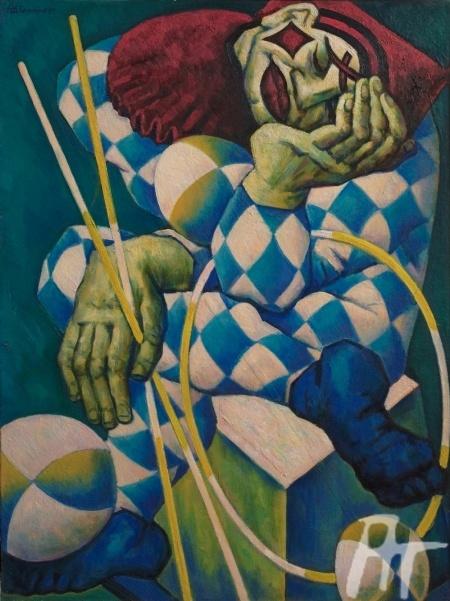 «Клоун с шарами» (1985)