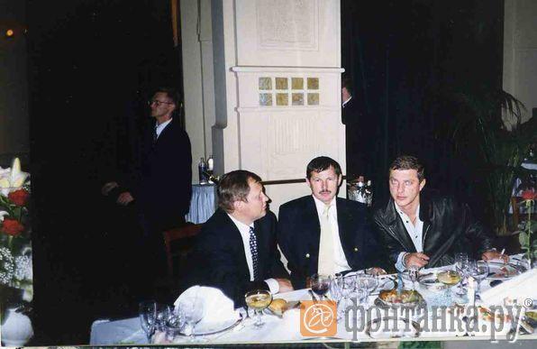 слева направо: Михаил Глущенко, Владимир Кумарин, Руслан Коляк