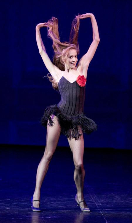 Мария Ковроски, фрагмент из мюзикла «On Your Toes», хореография Джорджа Баланчина