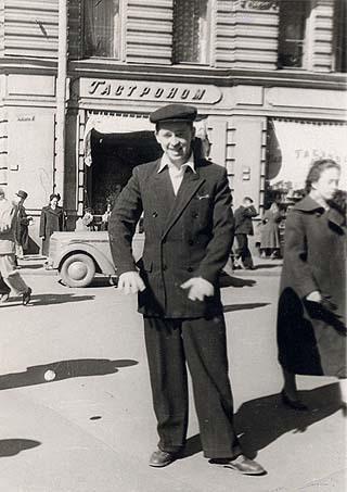 Фото (Классический карманник, прозвище «Морж», 60-е годы)
