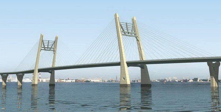 Проект круглосуточного моста через Большую Неву в составе ЗСД