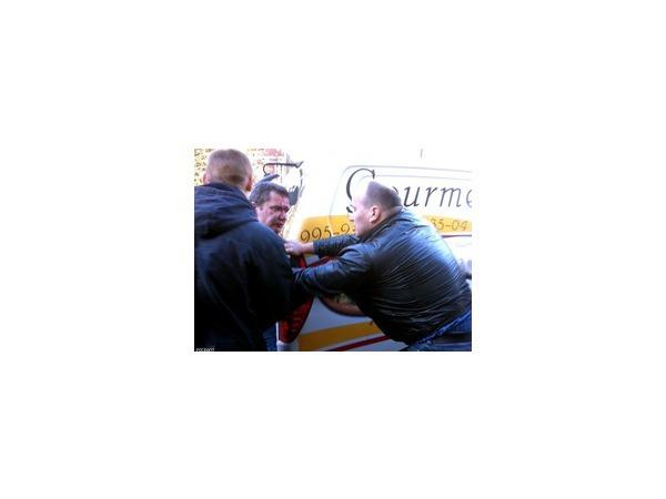 Полиция разбирается в нападении на машину главы «Росбалта»