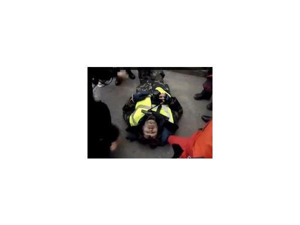Во время беспорядков в Киеве пострадали журналисты