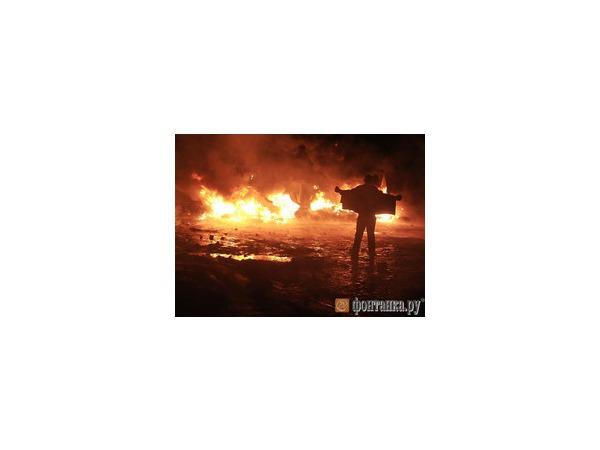 Спецподразделения украинской милиции предприняли попытку прорыва