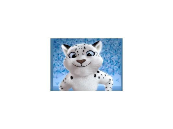 Талисманы Сочи 2014. Леопард