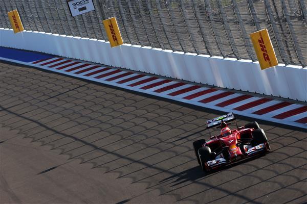 Скриншот официального сайта 2014 Formula 1 Gran Pri России