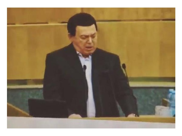 Кобзон  снова запел в Госдуме