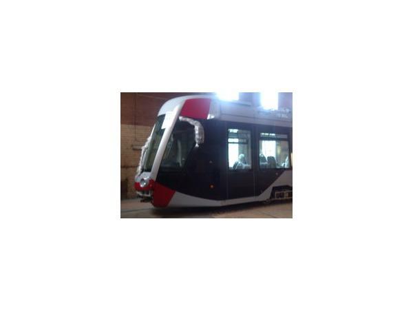 В трампарк на Стачек поступил французский трамвай от Alstom